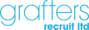 Grafters Recruit Ltd blue logo