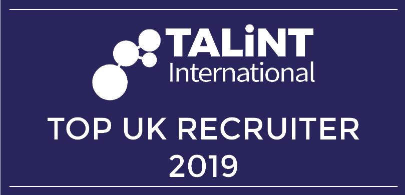 Top UK Recruiter 2019 logo